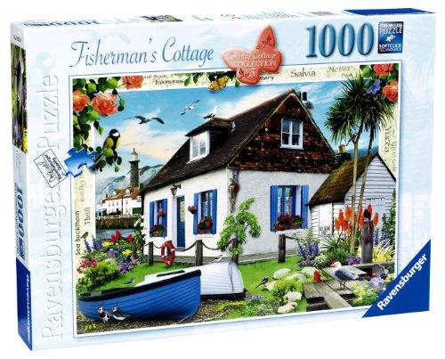 Ravensburger Landhaus, Kollektion Nr. 3, die Fischerhütte, 1000Teile Puzzle -
