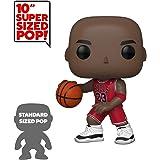 "Pop! NBA: Bulls - 10"" Michael Jordan (Red Jersey)"