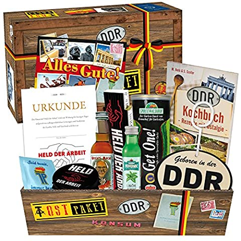 Geschenke zum Geburtstag für Männer +++ DDR Produkte DDR Waren Ossigeschenke für Männer +++ Schnaps, Likör, Zollstock, Flaschenöffner und noch vieles mehr +++ Ostpaket Ostbox +++ Geschenke aus dem Osten +++ Geschenk für Opa +++ Geschenkidee für den Onkel +++ Präsentbox aus dem Osten Geschenkidee zu Weihnachten für Männer Geschenkideen Weihnachten für Männer Geschenke zu Weihnachten für Freund Weihnachtsgeschenk für Papa Geschenkideen zu Weihnachten Geschenkset Weihnachten