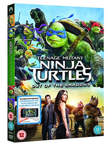 Image of Teenage Mutant Ninja Turtles: Out Of The Shadows (DVD + Digital Download) [2016]