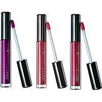 Lakme Absolute Plump and Shine Lip Gloss, Beige Shine, 3g+ Plum Shine, 3ml + Pink Shine, 3ml