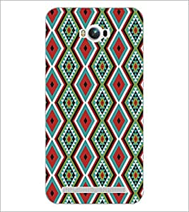 PrintDhaba Pattern D-5199 Back Case Cover for ASUS ZENFONE MAX ZC550KL (Multi-Coloured)