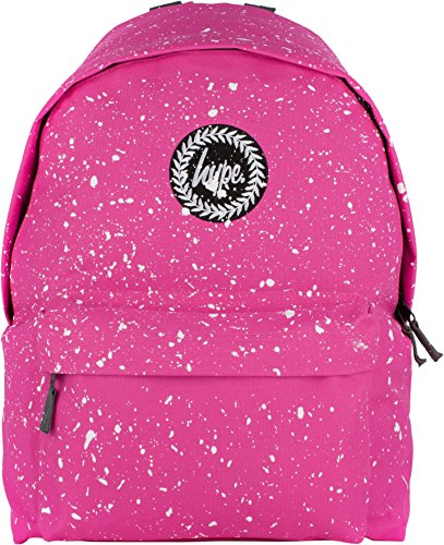Hype Rucksack Tasche - Verscheidene Farben Speckled Bright Pink/White