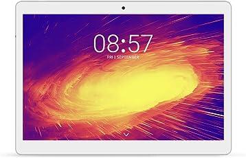 ALLDOCUBE M5 4G Tablet, 10.1 Zoll 2560x1600 JDI Bildschirm Tablet-PC mit SIM Karte, MTK X20 Deca Core, 4GB RAM, 64GB ROM, Android 8.0, 2MP/5MP,Silber