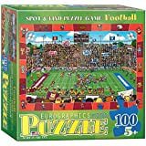 Eurographics 100 Puzzle Pc - Spot & Find - Fútbol (MO) - (EG61000474)