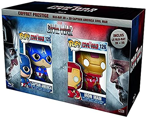 Captain America : Civil War - Coffret Prestige [Blu-ray]