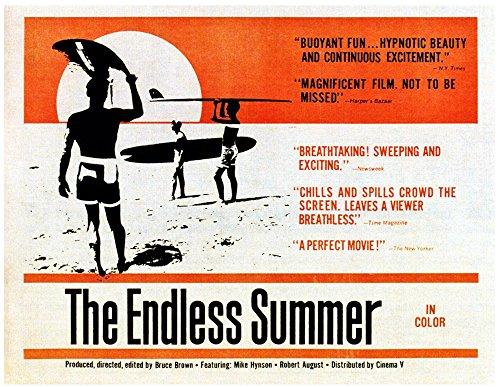 The Endless Summer Poster Drucken (71,12 x 55,88 cm) (Endless Drucken Summer)