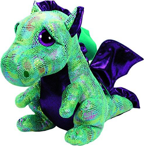 """Beanie Boo Dragon - Cinder - Green - 42cm 16"""""""