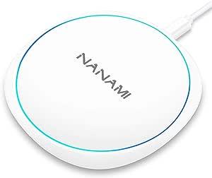 Nanami Fast Wireless Charger Pad 10w Schnelles Qi Elektronik