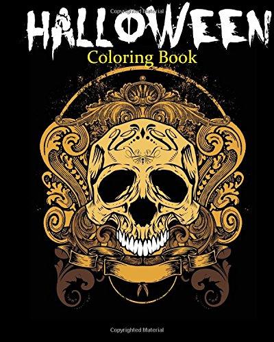 ook (Print-halloween-coloring Book)