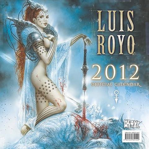 Luis Royo Official Calendar