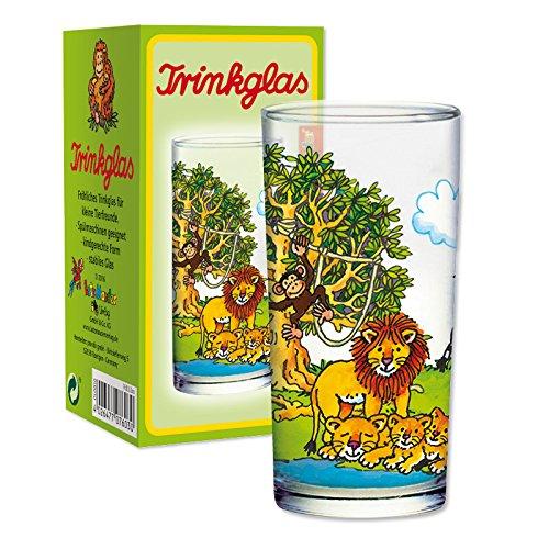 Lutz Mauder 7603 Kinder Trinkglas Zoo