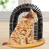 Rascar masajista basado gato gatos Arco tarjeta de cepillo de masaje cero
