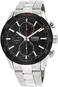 Oris Artix GT 77476614424MBXG - Orologio da uomo in acciaio inossidabile con quadrante nero
