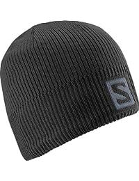 Salomon, Bonnet Unisexe avec Logo, Pour les Athlètes d'Hiver, Logo Beanie