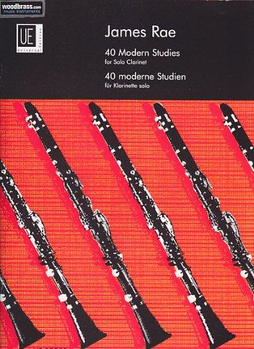 Universal Edition Rae J–40Modern Studies–Clarinete