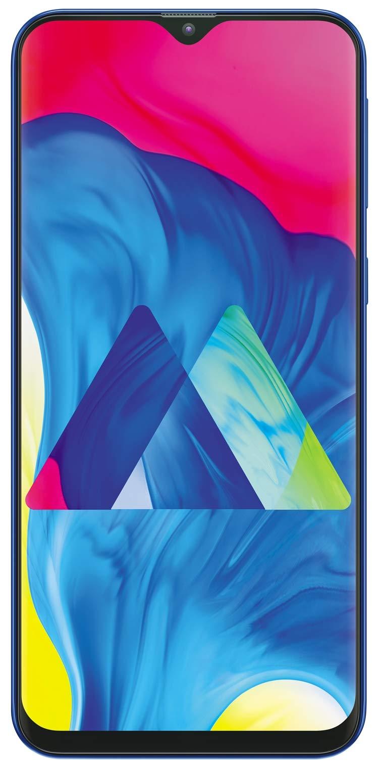 - 613Os2k0a2L - Samsung Galaxy M10 (Ocean Blue, 3+32GB)