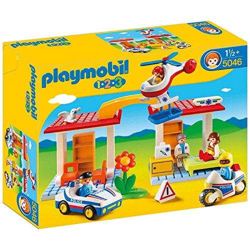 Playmobil 123 Police and Ambulance Playset - 5046.