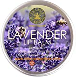 #3: SolaceDeArtisan LAVENDER ORGANIC LIP BALM (Super Value Pack 15g) (Lasts all day)- Lavender Oil & Shea Butter- Hydrating and Nourishing- Premium Handcrafted from 100% Natural Ingredients (Biggest pack in Market- FOOD SAFE, Paraben free, Sulphate free, Preservative free)