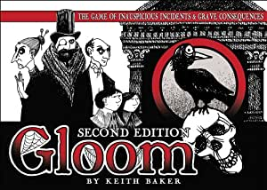 Atlas - Gioco di carte Gloom Second Edition [Lingua Inglese]