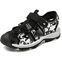 BaiMoJia Boys Girls Sandals Closed Toe Hiking Sandals Outdoor Sports Beach Summer Shoes Kids