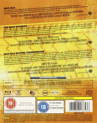 Mad Max Collection [Blu-ray] [Reino Unido]