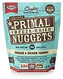 Fórmula de pollo y salmón Primal Pet Foods para congelar y secar en la grasa
