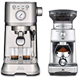 Solis Barista Perfetta plus 1170 RVS + Caffissima 1611, geschikt voor elk type koffie: Koffiebonen, Pads en Gemalen koffie, m