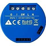Shelly 1 Open Source WiFi, Smart WiFi Relais Switch, WiFi Alexa,Google Home