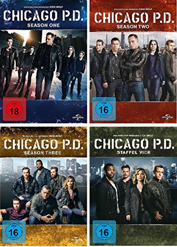 Produktbild Chicago P.D. - Season 1+2+3+4 im Set (FSK 18) - Deutsche Originalware [22 DVDs]