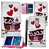 LG K8 2017 Case, PU Leather Case Cover Wallet Protective