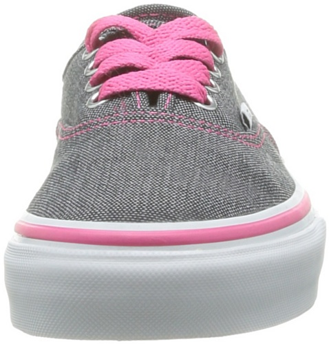 Vans T Authentic, Baskets mode mixte bébé Noir (Denim Black/N)
