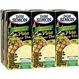 Don Simon Zumo de Piña, Manzana y Uva - Pack de 6 x 20 cl - Total: 120 cl
