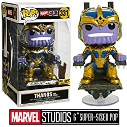 Funko POP! Marvel: Thanos con trono