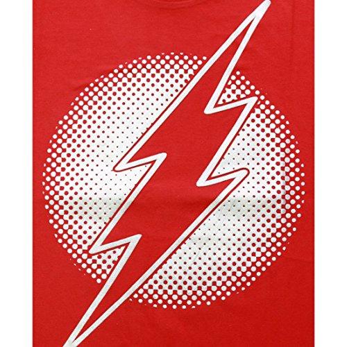 cotton division Herren T-Shirt Rouge Homme