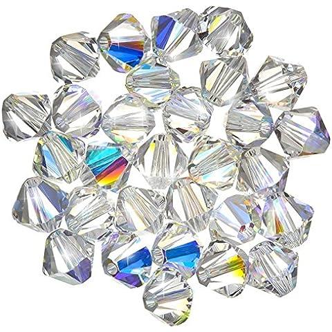 Cristallo Swarovski bicono xilion (001) Crystal AB
