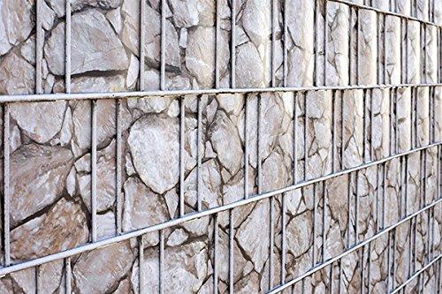 ILESTO PVC Sichtschutzstreifen für Zäune 35m Sichtschutz für Ihren Gartenzaun