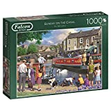 Falcon de luxe 11206 Sunday on the Canal Jigsaw Puzzle