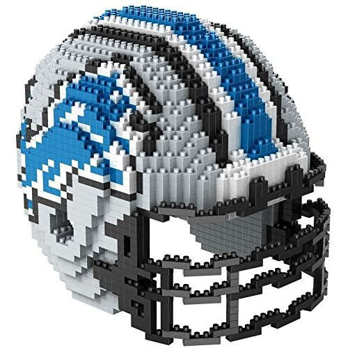Detroit Lions NFL Football Team 3D BRXLZ Helm Helmet Puzzle ...