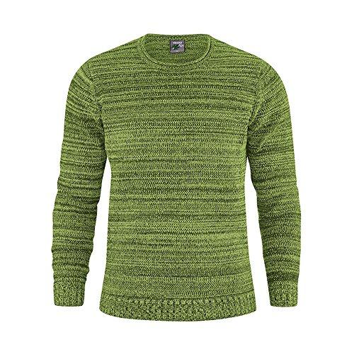 HempAge Herren Pullover Bio-Baumwolle/Hanf Weed L (Pullover Baumwolle Hanf)