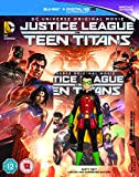 Justice League vs Teen Titans (includes Mini Figure) [Blu-ray]