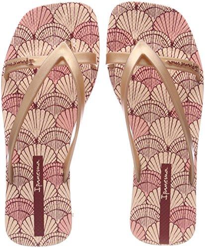 Ipanema Damen Fashion Kirey V Fem Zehentrenner, Mehrfarbig (Light Pink/Pink), 43 EU