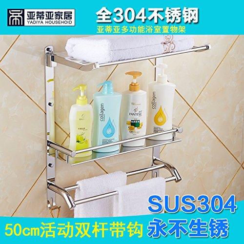 Acciaio inossidabile 304 bagni bagno di rack
