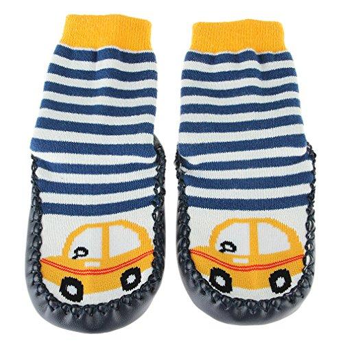 EOZY Chaussette Chaussure Semelle Toddler Botte Antidérapant Enfant Bébé Voiture