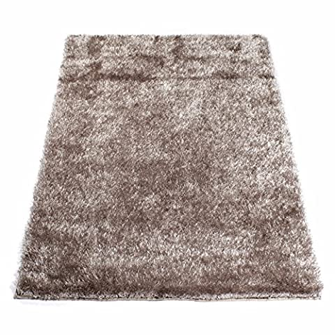 Tapis shaggy 160 x 230 cm (Tapis shaggy 160 x 230 cm, Taupe)