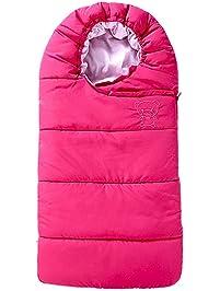 BESBOMIG Bebé de Invierno Saco de Dormir para Niños - Saco Carro Universal para Sillas de Coche Silla de Paseo Cómoda Cochecito Acolchado Sleeping Bag: ...