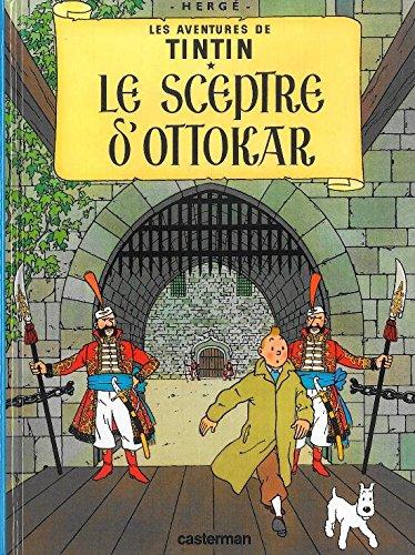 Les Aventures de Tintin, Tome 8 : Le sceptre d'Ottokar : Mini-album par Herge