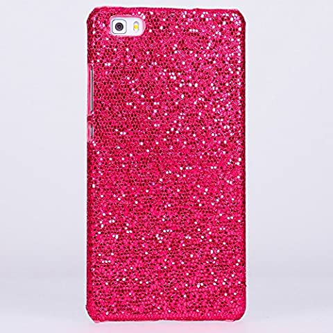 delightable24 Funda Protectora Caso Sparkle Party Case HUAWEI P8 LITE Smartphone - Pink Rosa