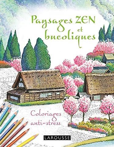 Cahiers coloriages paysages Zen et