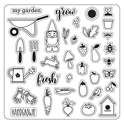 Fiskars Lia Griffith designer Hand Grown Teal Green/White